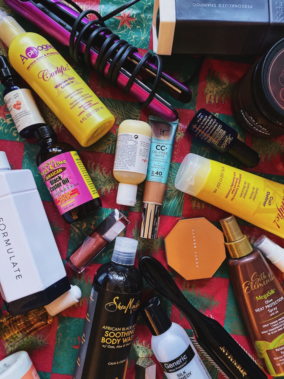 gift ideas 2019-makeup-skincare-haircare products