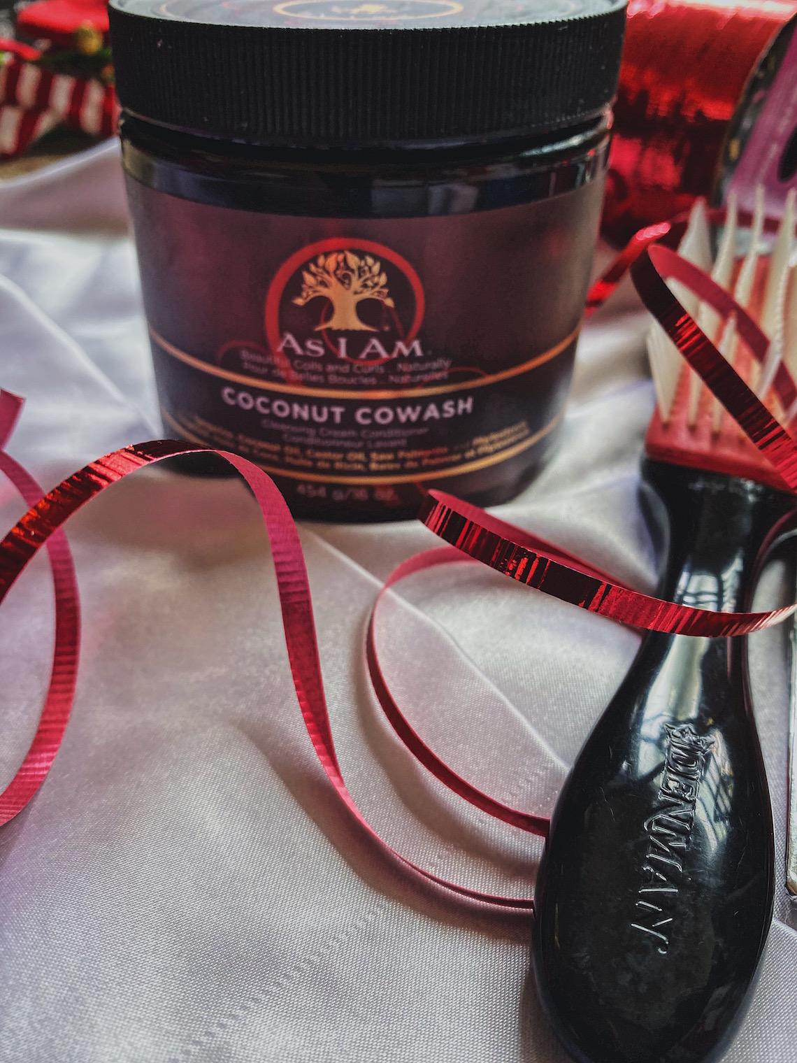 gift ideas-as i am coconut cowash-denman brush