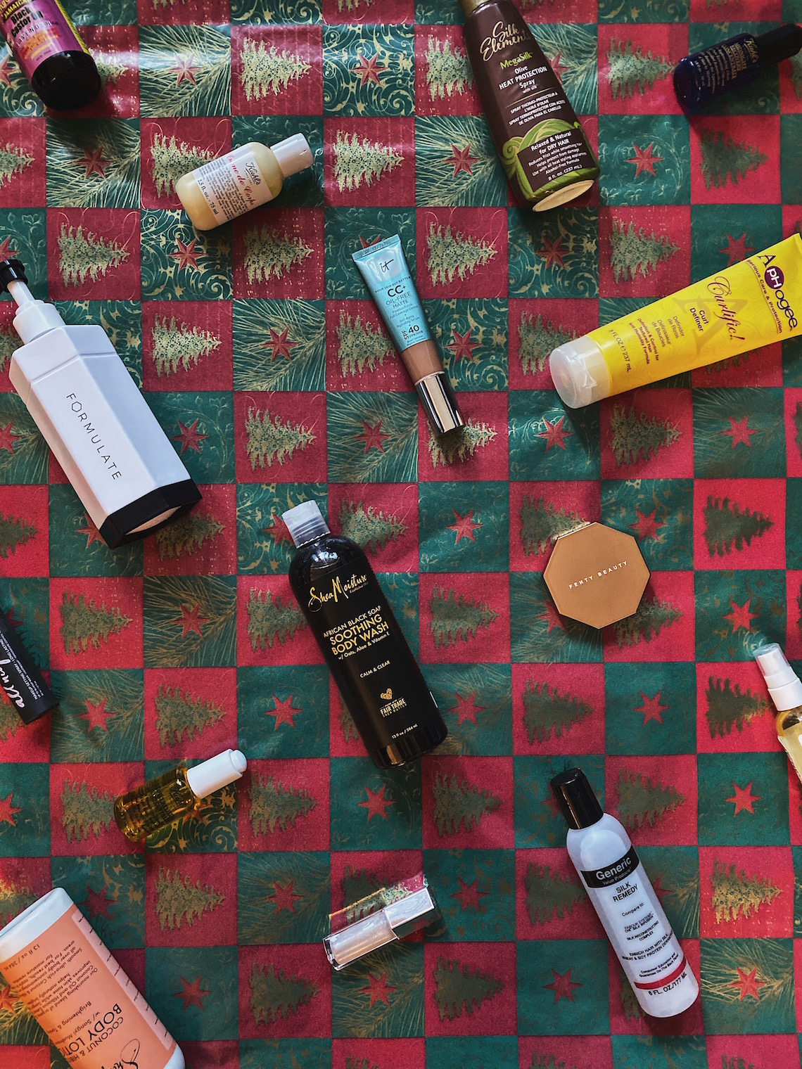 gift ideas-haircare products-skincare products