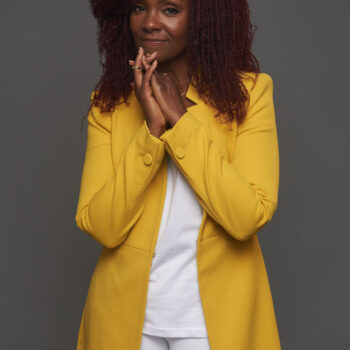rha goddess-professional styling-yellow blazer-sheldon botler photography-wear who you are-kazi creative