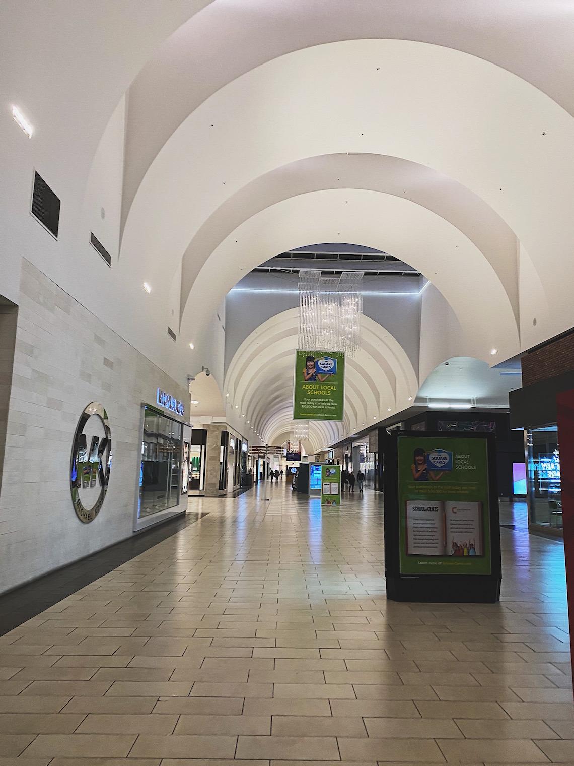 cerritos mall-march 16th 2020-covid 19-social distancing