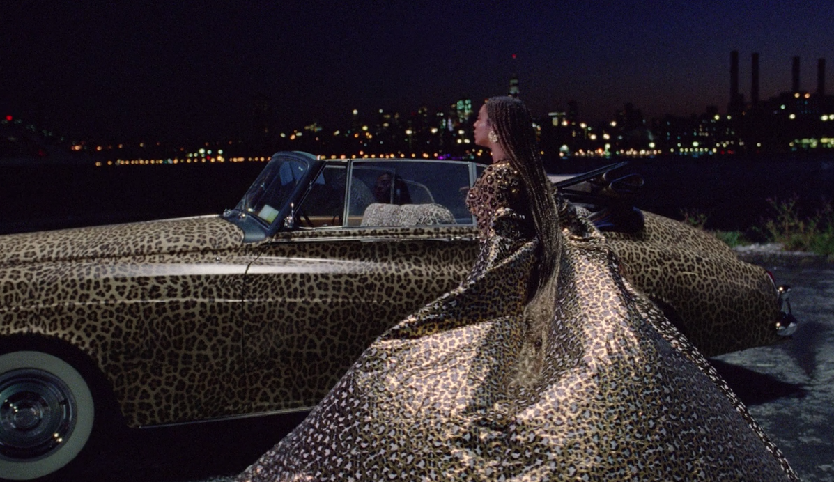black-is-king-mood-4-eva-beyonce-leopard-print-car-outfit-2