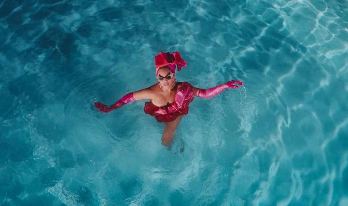 black-is-king-mood-4-eva-beyonce-pink-red-swimming-pool-outfit-6