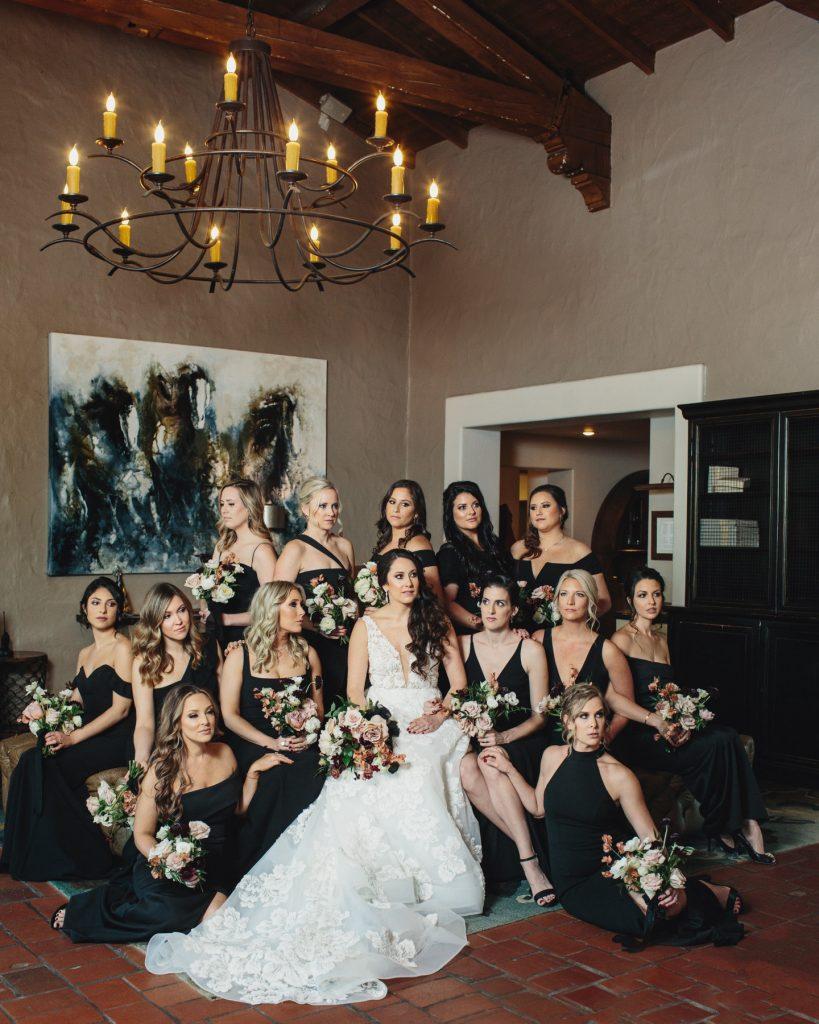 Elwynn + Cass Beauty Concierge / The Inn at Rancho Santa Fe Wedding New Years Eve