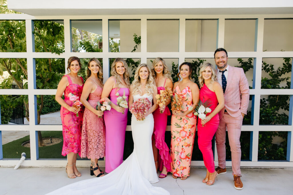 Elwynn + Cass Palm Springs Wedding Holiday House