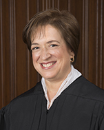 United States Supreme Court Justice Elena Kagan, nominated by Democratic President Obama in 2010 to replace John Paul Stevens