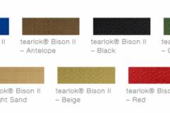 defab tearlok bison colour options