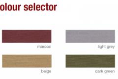 defab supaproof 6 colour options