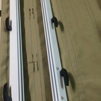 Aussie Traveller Anti Flap Bag Open Bars Ontop