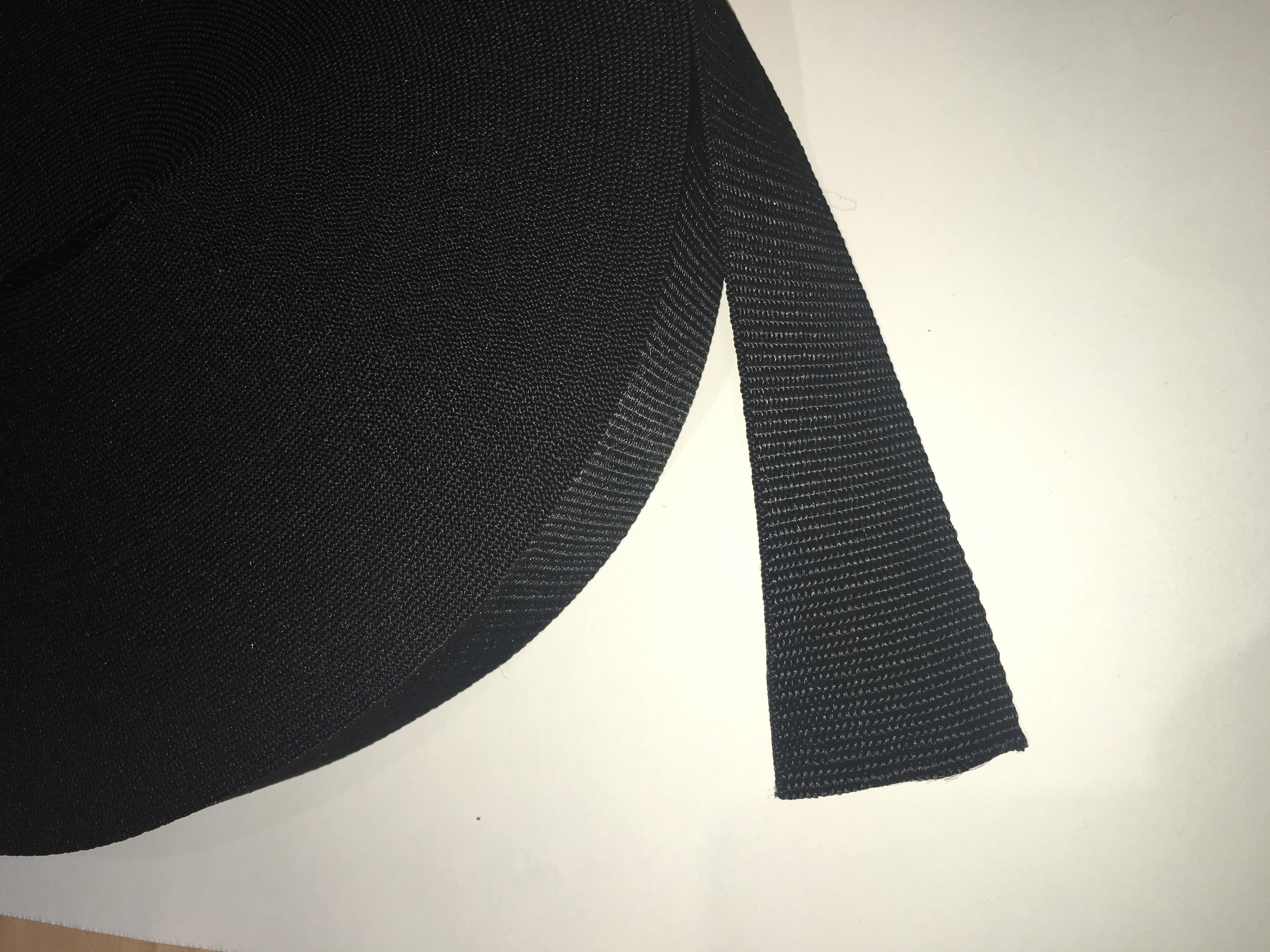 50mm Webbing Black
