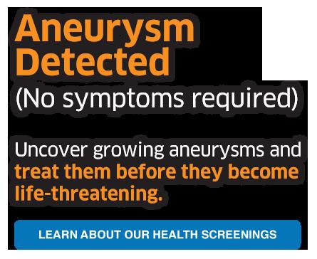 aneurysm detected