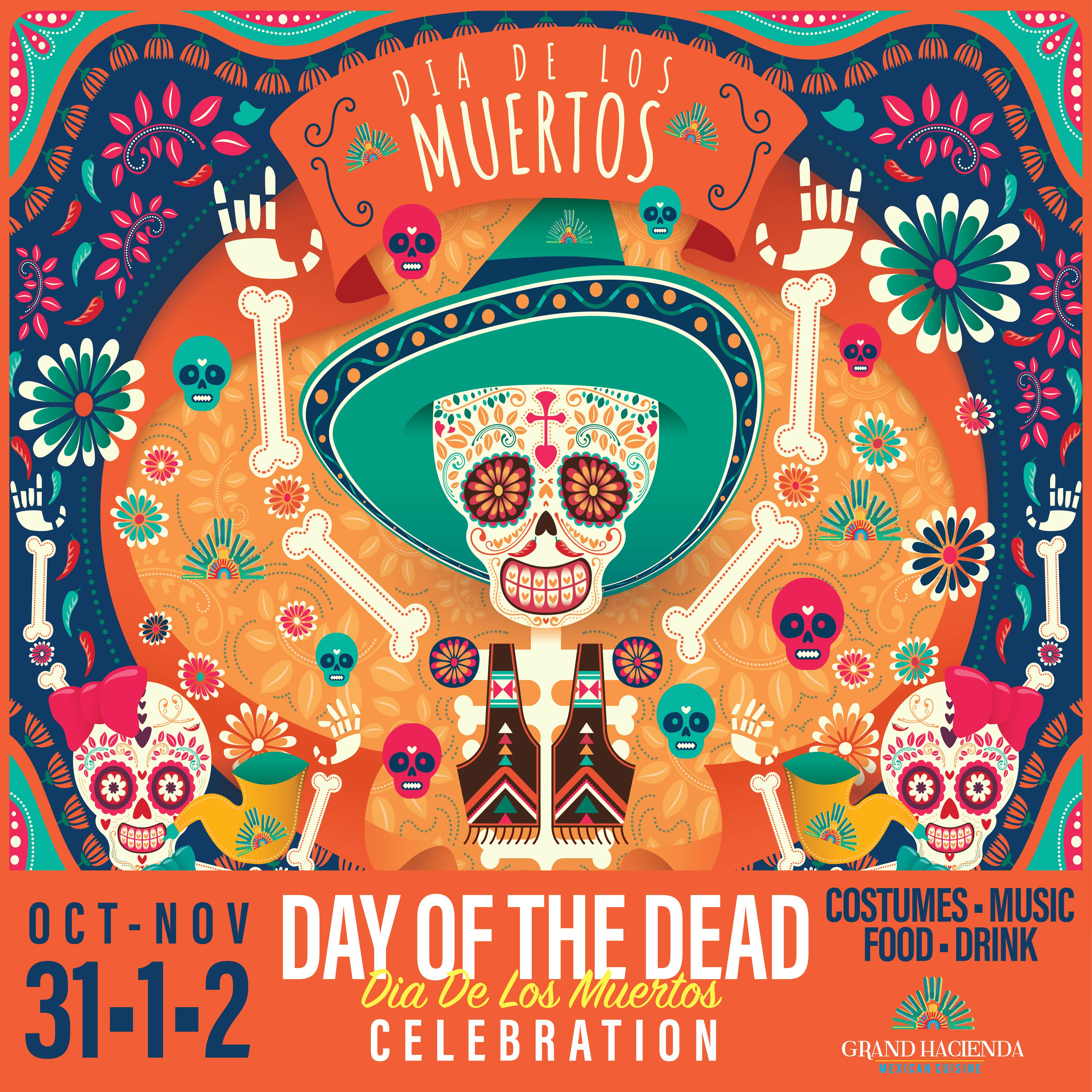Let's Celebrate Dia De Los Muertos!