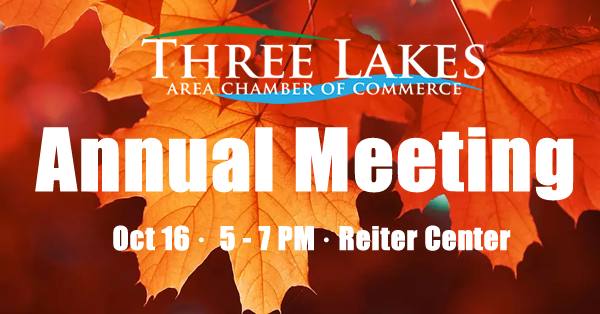 2018 Annual Meeting of the Three Lakes Area Chamber of Commerce