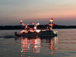 Big Fork Lake Venetian Boat Parade