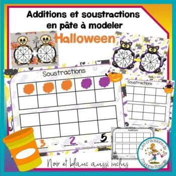 Additions et soustractions d'Halloween
