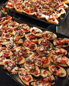 Catering-Bruscetta
