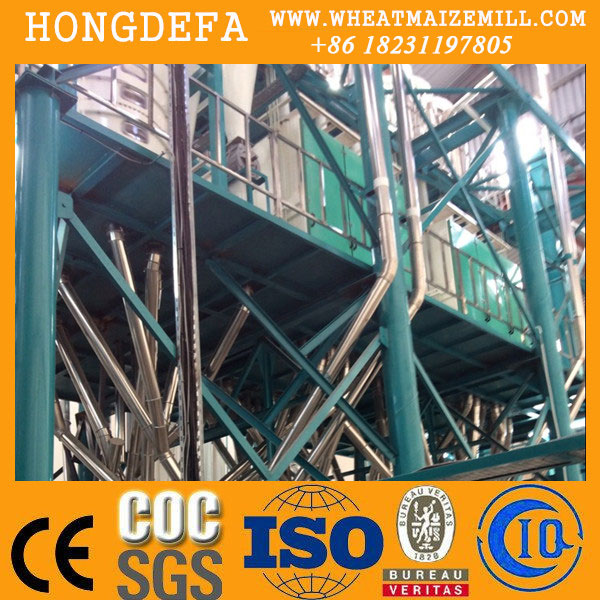 sifted maize milling machine