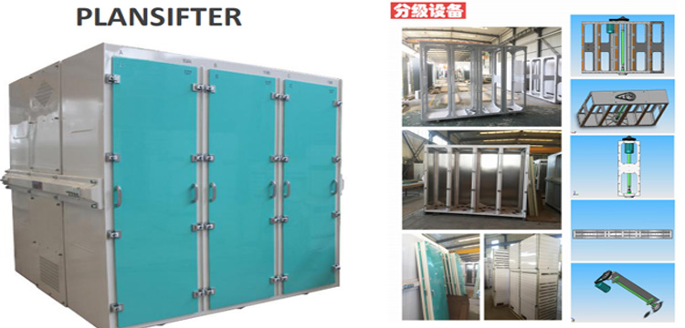 plansifter for flour mill