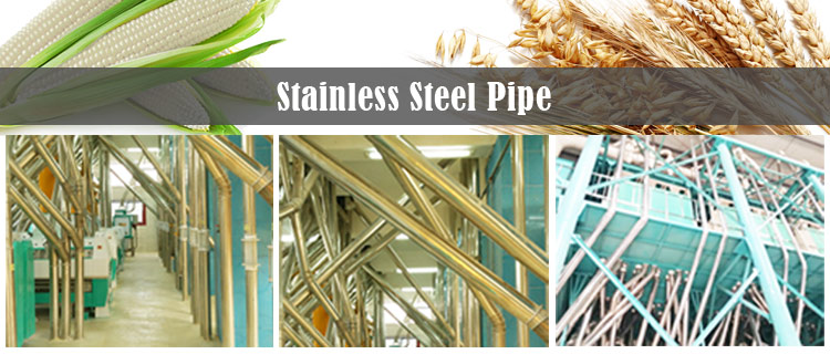 stainless-steel-pipe for flour mill