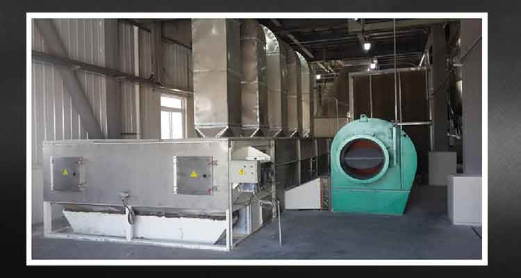 Flake Mill Machine Dryer and cooling system