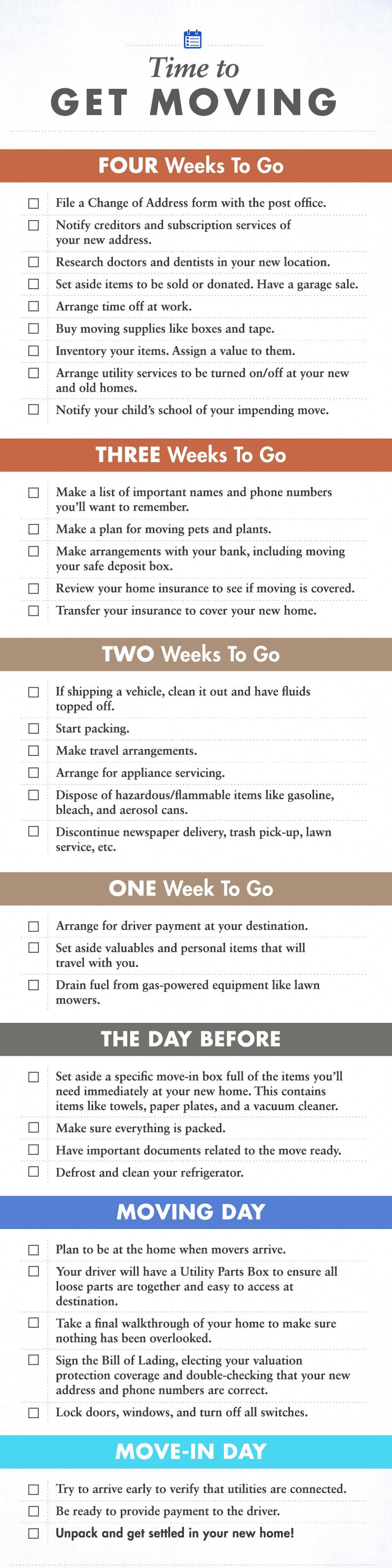 Moving-Checklist-Infographic-Florida Moving Checklist: 4 Week Countdown Orlando   Central Florida