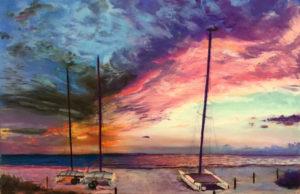 Susannah Colby, Pink Sky at Night