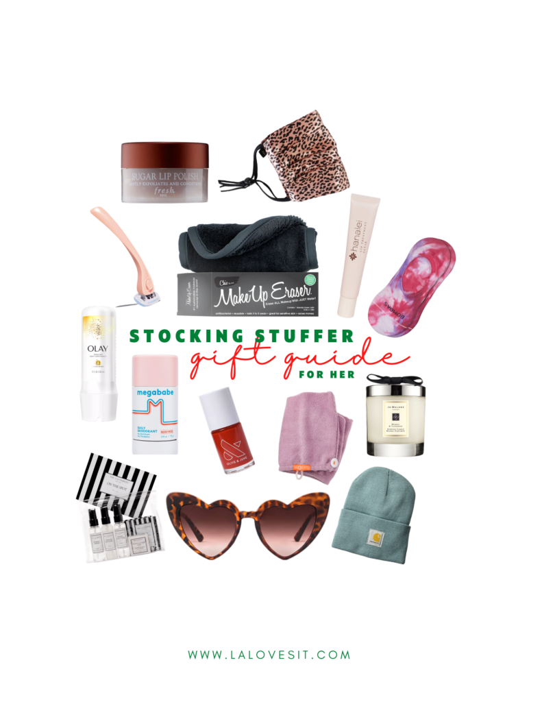 2020 GIFT GUIDE: STOCKING STUFFERS FOR HER