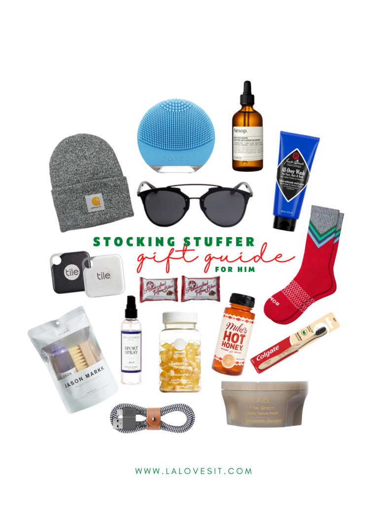 2020 GIFT GUIDE: STOCKING STUFFERS FOR HIM