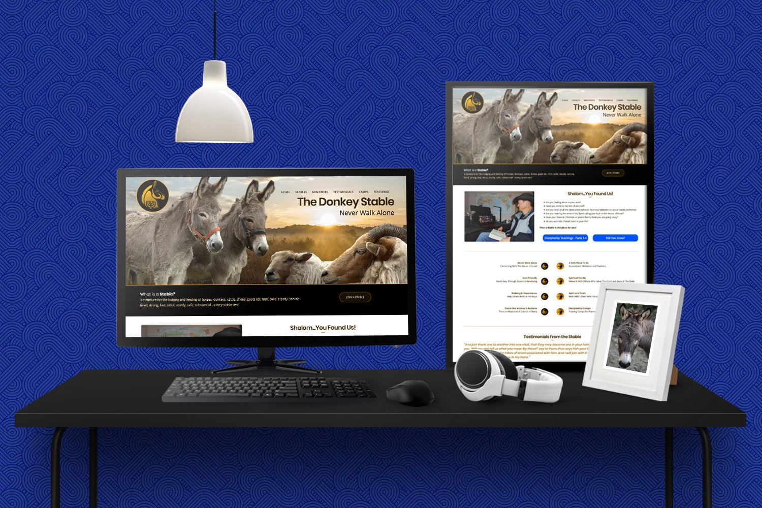 Ministry Website Design | The Donkey Stable