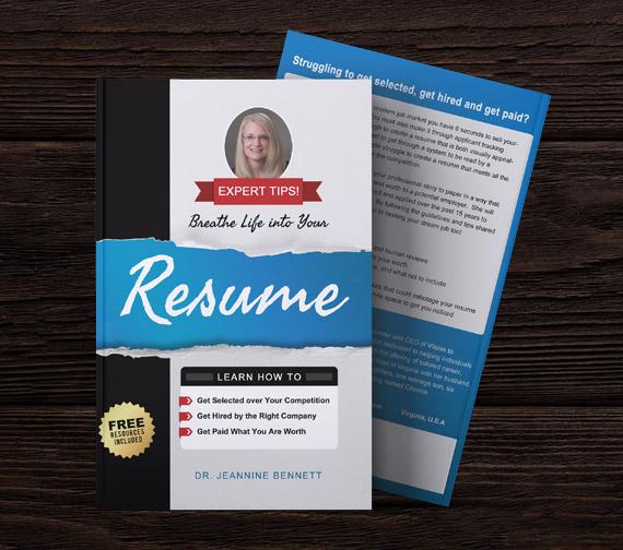 Book Cover Design | Breath Life Into Your Resume