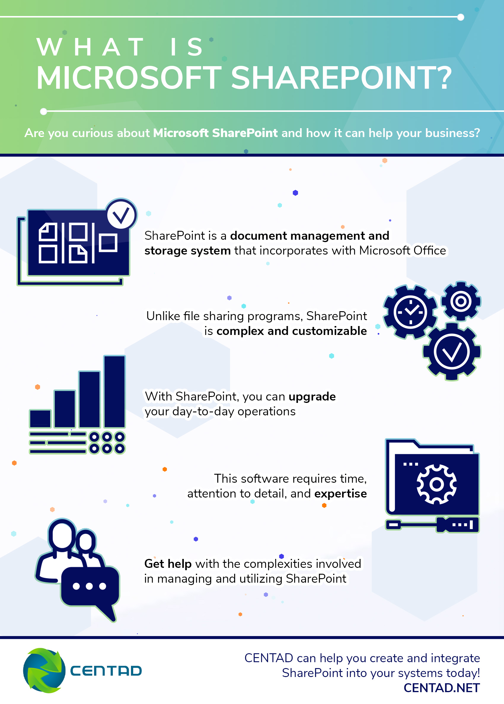 what is microsoft sharepoint infographic