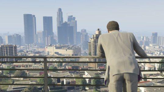 GTA 5 City view