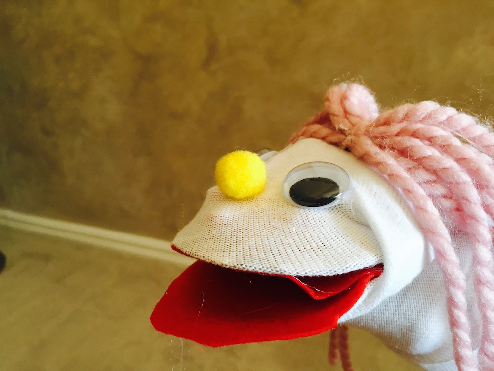 Easy Sock Puppet!