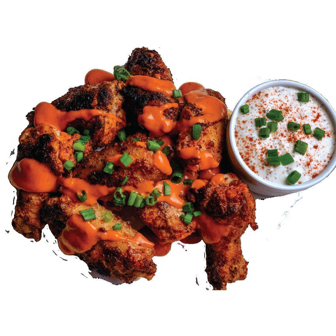 Roanoke Chicken Soul Bird Jumbo Wings