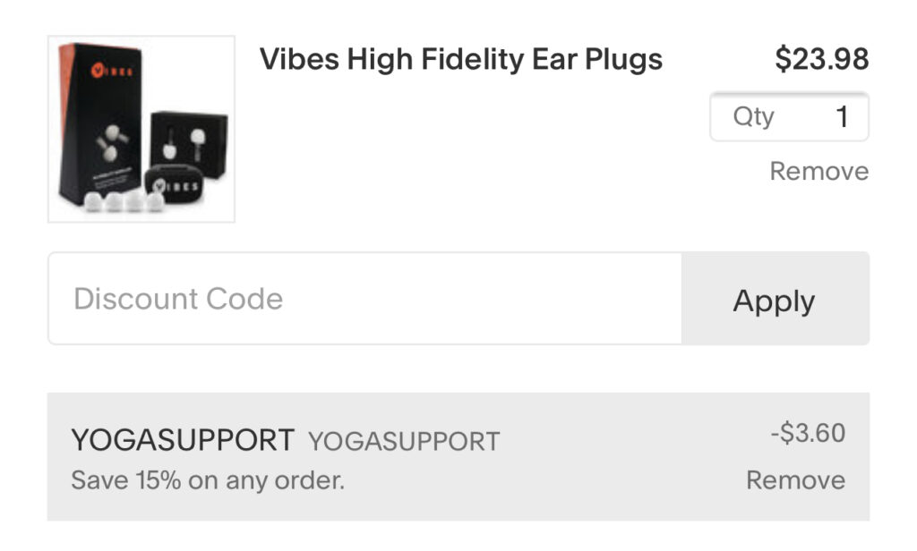 vibes discount