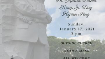 Dr. King Hymn Sing