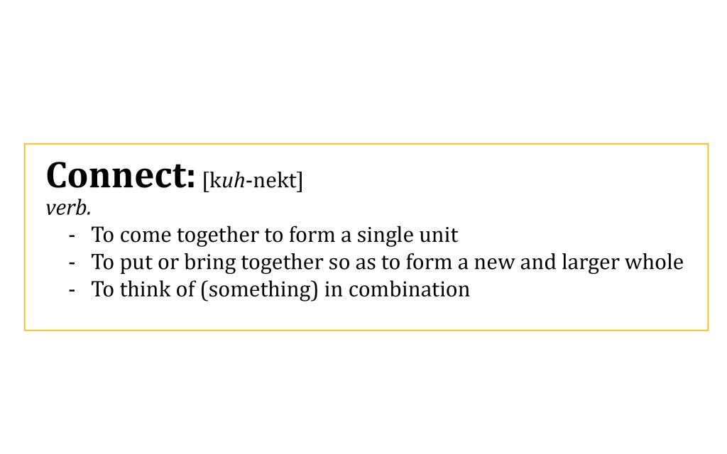 connect definition