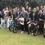 South32donating the bicycles