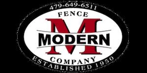 Modern Fence Company Logo