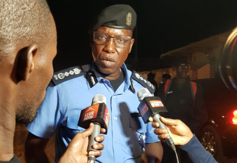 Gambia police warn party supporters to stop wearing military uniforms at political rallies