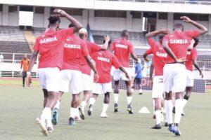Gambia football team boycott President Barrow over bonus row
