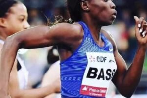 Gina Bass fails to make 100m final