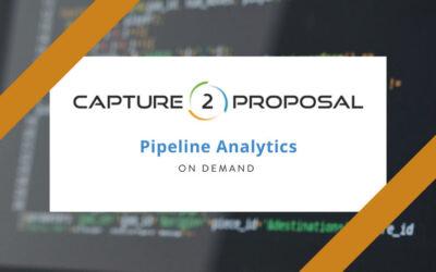 Pipeline Analytics Dashboard Webinar – Watch Now!