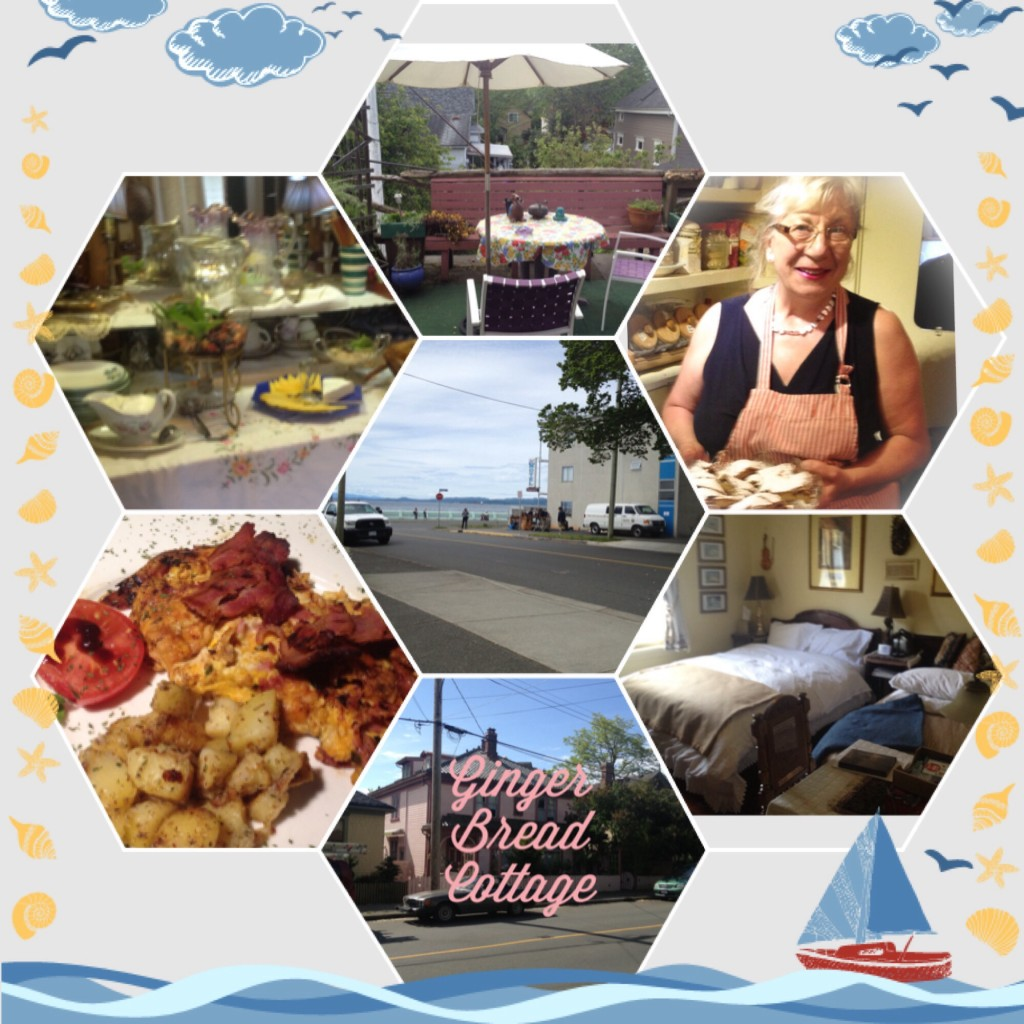 Victoria bed breakfast collage picture