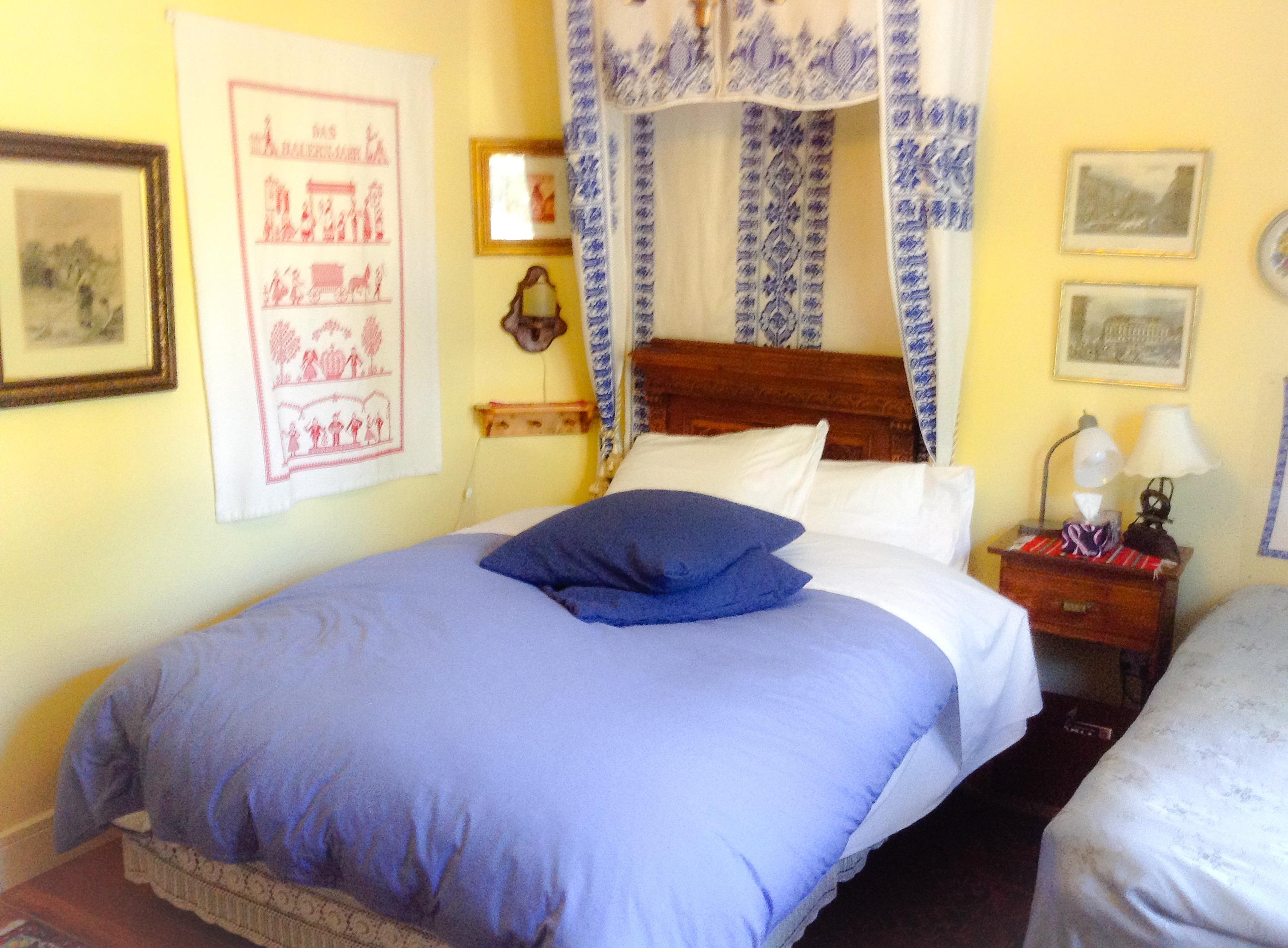 Comfy Down Filled Duvet on Queen Bed
