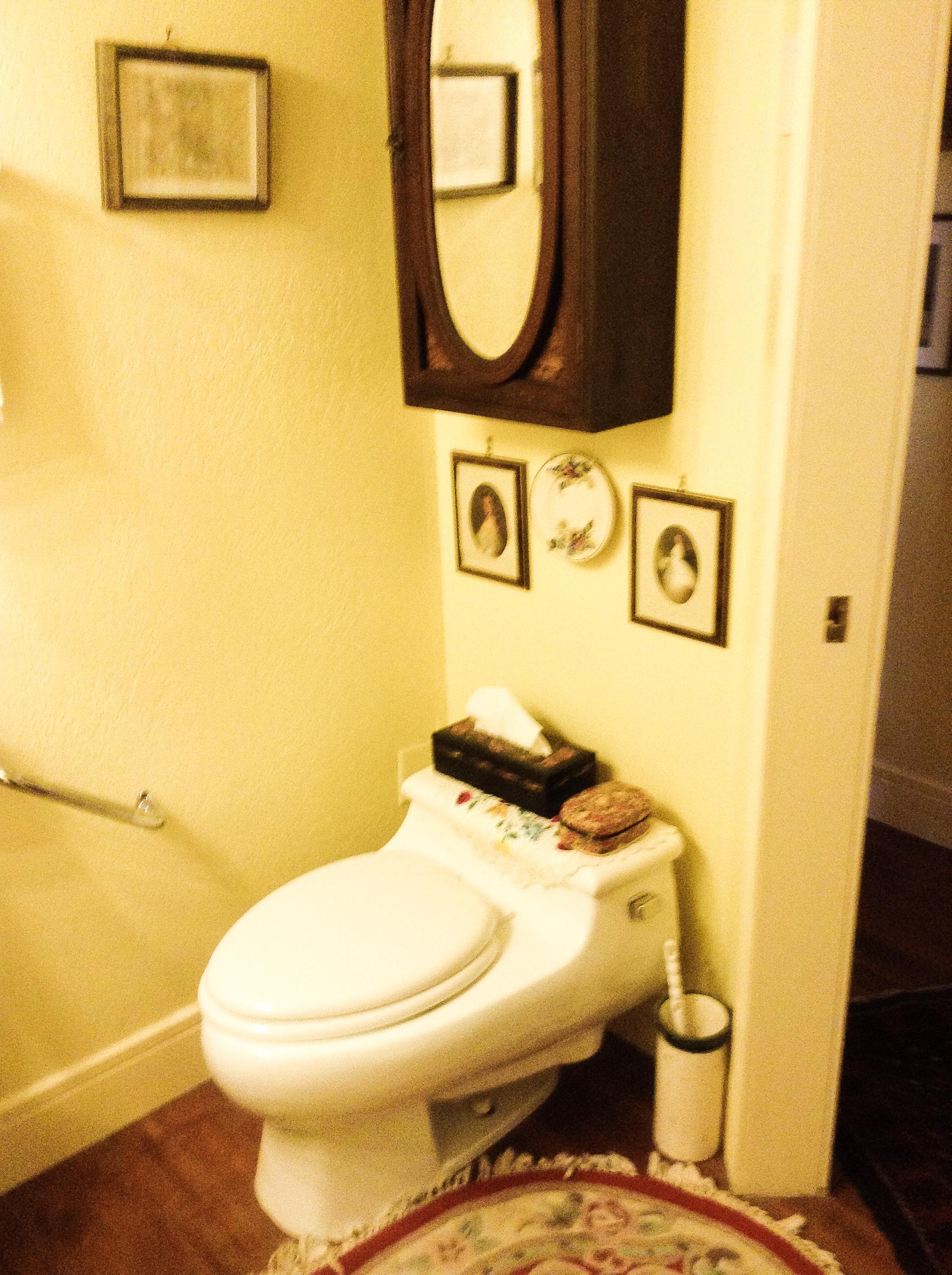 Kohler Toilet in Private Front Room Guest Room