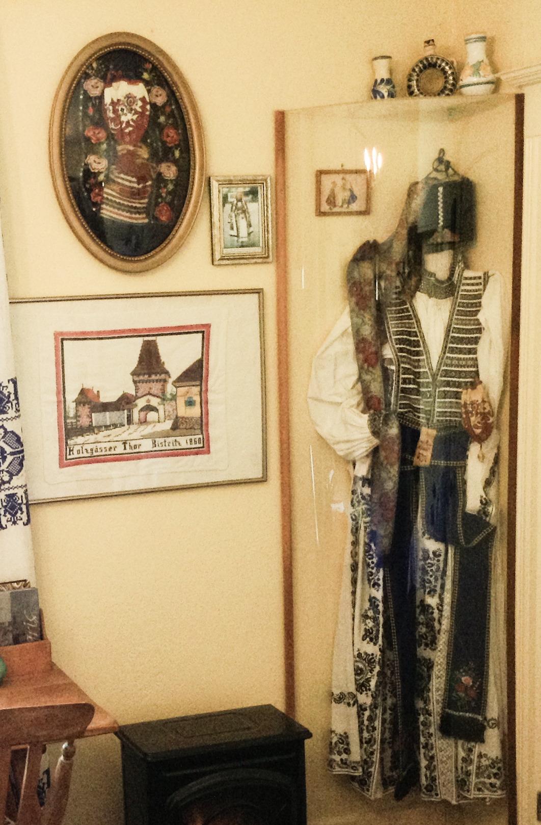 Transylvanian Festive Costume worn by Saxon Germans