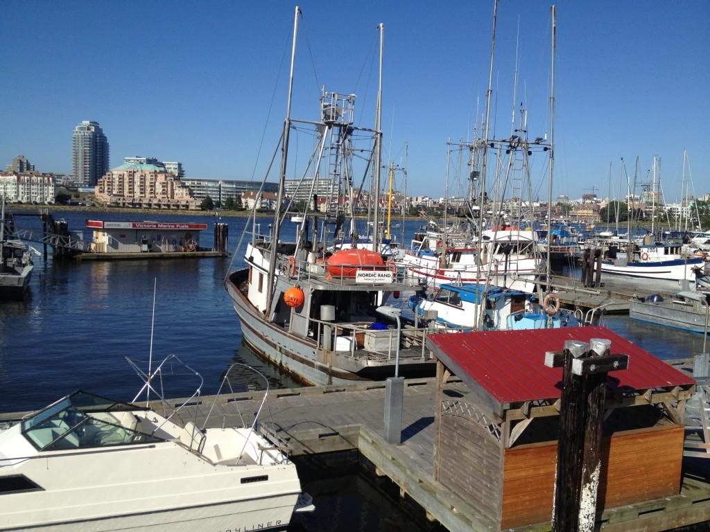 Fishermans Wharf Fish Boats
