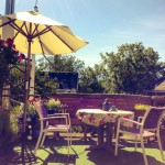 Gingerbread Cottage Bed Breakfast Victoria BC Private Roof Garden