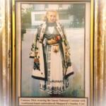 Vanessa in Saxon Traditional Costume